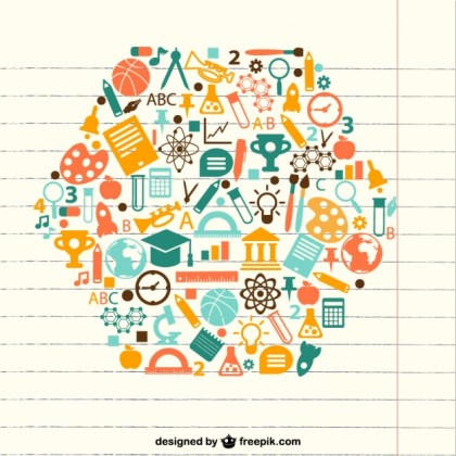 Education Concept Free Vector