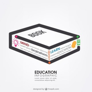 Education Infographics Free Vector