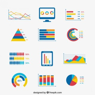 Elements of Business Infographic Free Vector