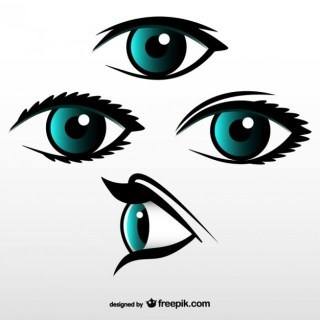 Eyes Set Download Free Vector