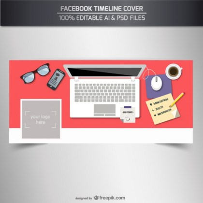 Facebook Timeline Cover Template Free Vector