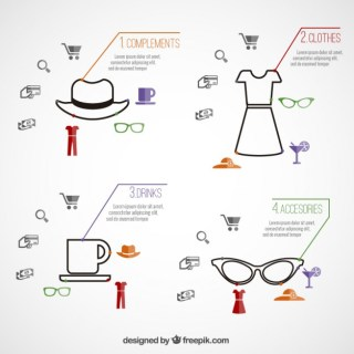 Fashion Infographic Free Vector