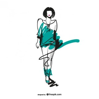 Fashion Sketch Download Free Vector