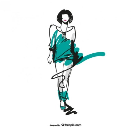 Fashion Sketch Download Free Vector