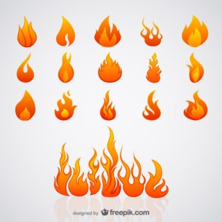 Flame Free Vector