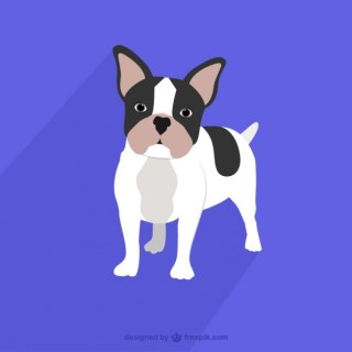 French Bulldog Drawing Free Vector