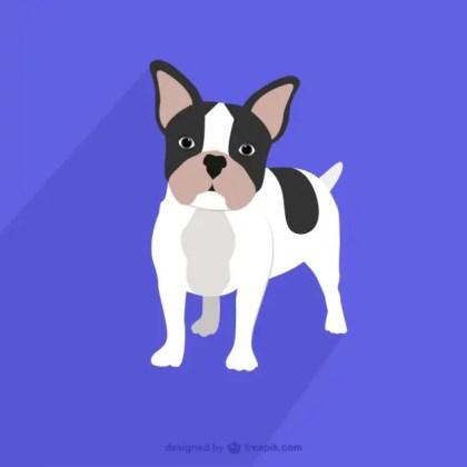 French Bulldog Drawing Free Vector