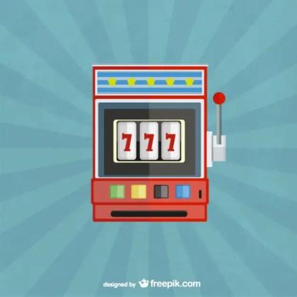 Gambling Machine Free Vector