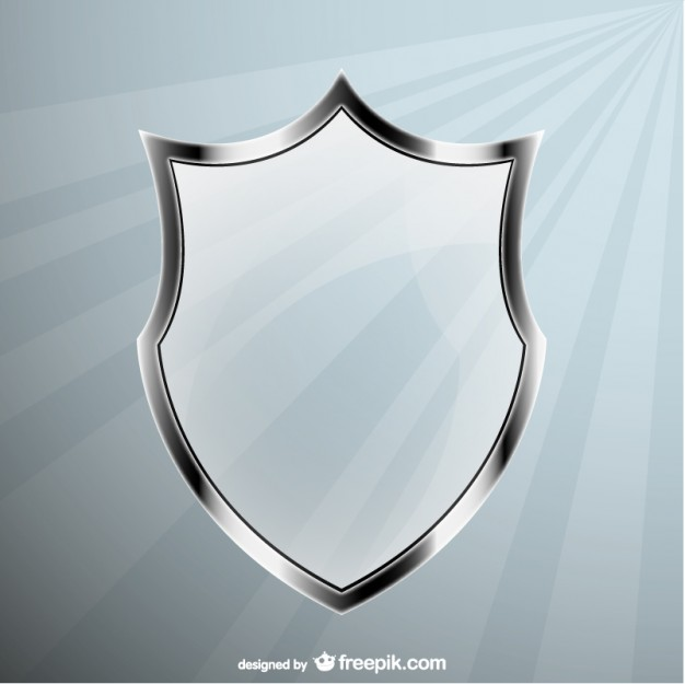 Glass Shield Free Vector