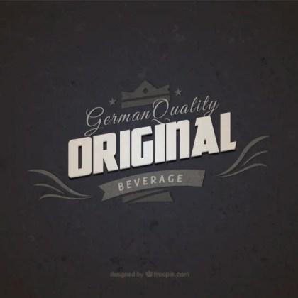 Graphic Design Vintage Badge Free Vector