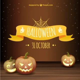 Halloween Background Free Vector