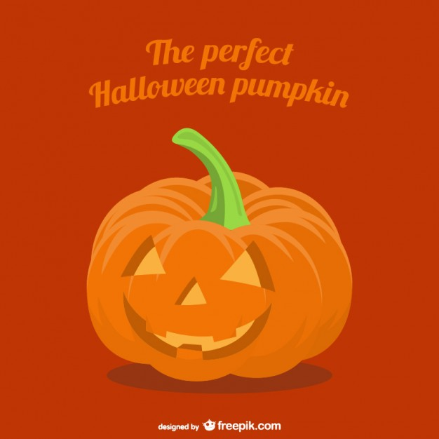 Halloween Pumpkin Cartoon Free Vector