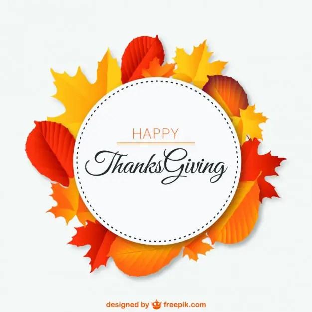 Happy Thanksgiving Free Vector