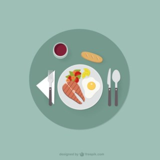 Healthy Food Free Vector