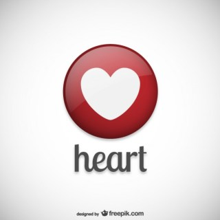Heart Logo Free Vector