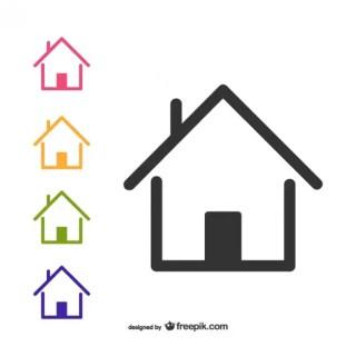 Home Logotype Free Vector