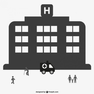 Hospital Graphic Free Vector