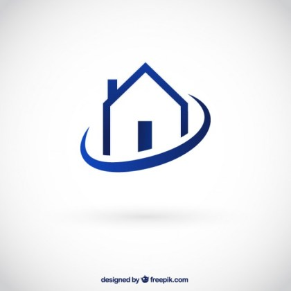 House Logo Free Vector