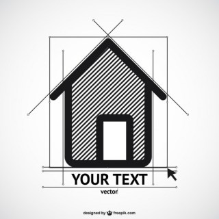 House Sketch Template Free Vector
