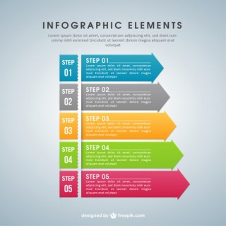 Infographic Template Free Vector