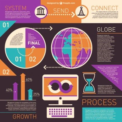 Infographics Design Free Vector