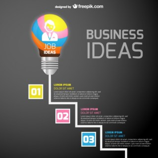 Job Ideas Infographic Template Free Vector