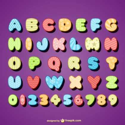 Letter Design Free Vector