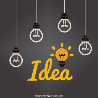 Light Bulb Idea Free Vector