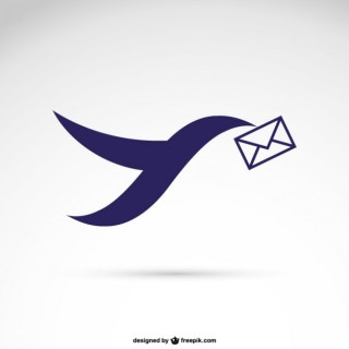 Mailing Logo Free Vector