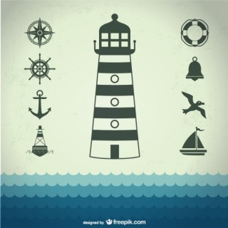 Marine Sea Graphic Free Vector