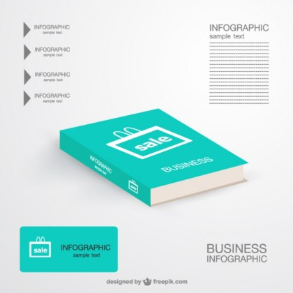 Marketing Book Infographic Free Vector