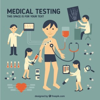 Medical Testing Free Vector