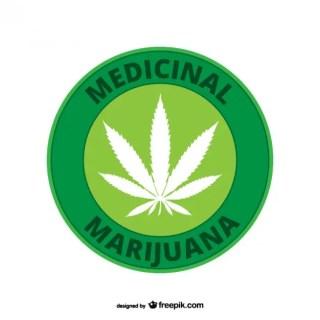 Medicinal Marijuana Free Vector