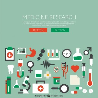 Medicine Research Free Vector