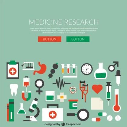 Medicine Research Free Vector