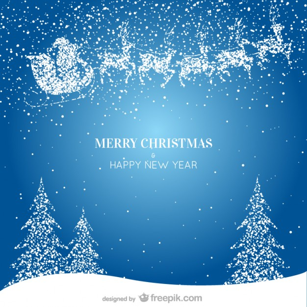 Christmas and new year greeting card 123freevectors christmas and new year greeting card m4hsunfo