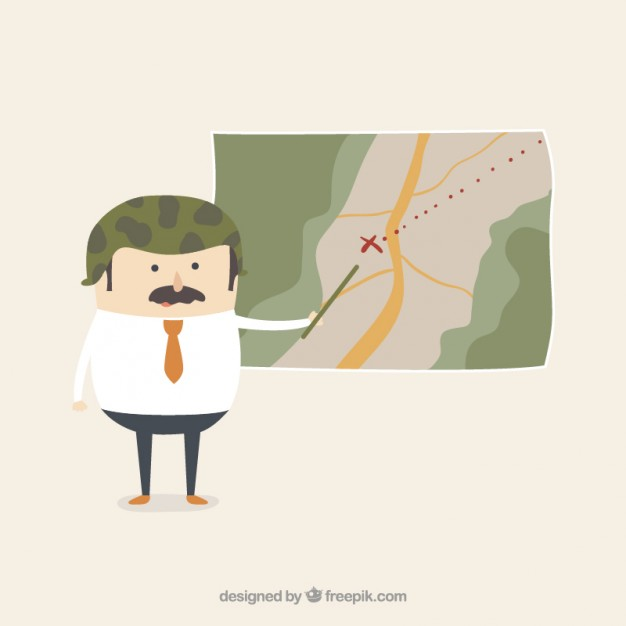 Military Strategy Free Vector
