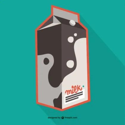 Milk Carton Free Vector