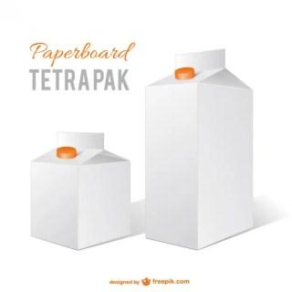Milk Cartons Free Vector
