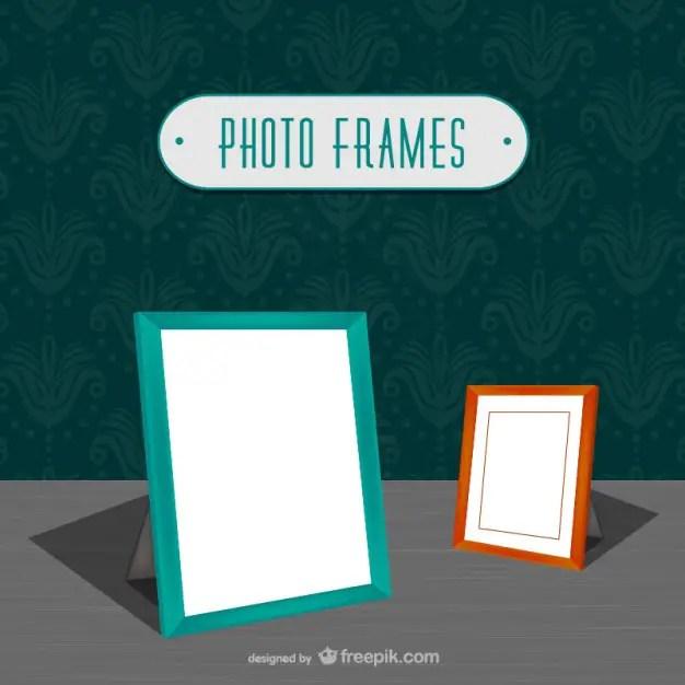 Minimalist Photo Frames Free Vector