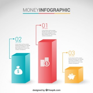 Money Infographic Free Vector