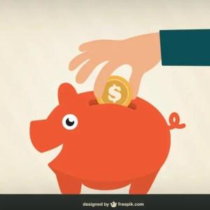Money Saving Free Vector