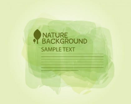 Nature Template Free Vector