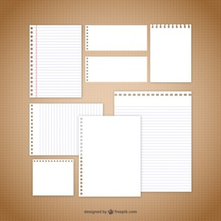 Note Paper Free Vector