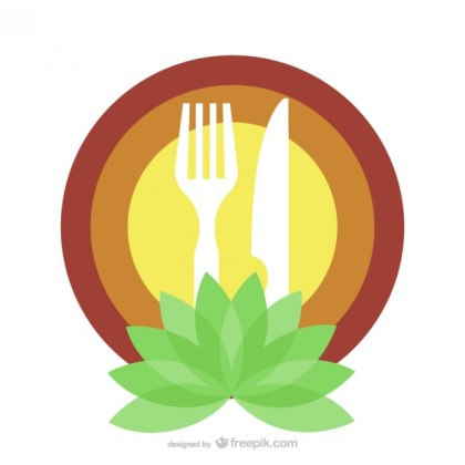 Organic Food Restaurant Logo Template Free Vector