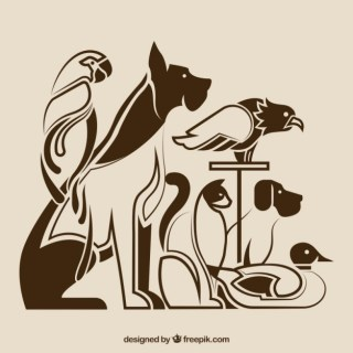 Pet Silhouettes Free Vector