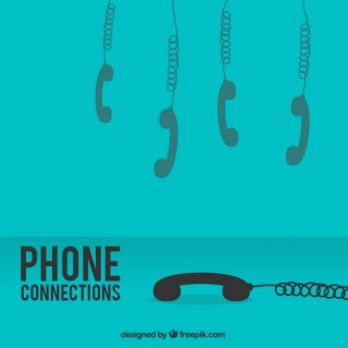 Phone Connections Free Vector
