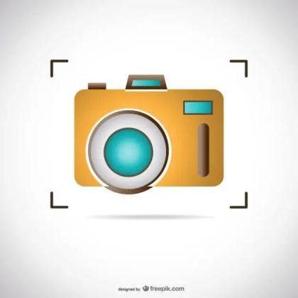 Photo Camera Free Vector