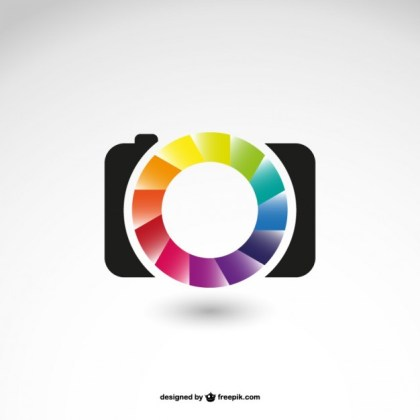 Photography Business Logo Icon Free Vector