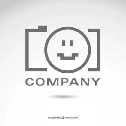 Photography Company Logo Free Vector